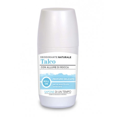 Deodorante roll-on al Talco - SAPONE DI UN TEMPO