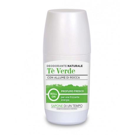 Deodorante roll-on al Té Verde - SAPONE DI UN TEMPO