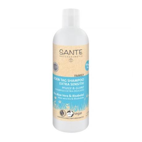 Shampoo Family Quotidiano con Aloe e Bisabololo Bio 300ml – Extra Delicato SANTE NATURKOSMETIK