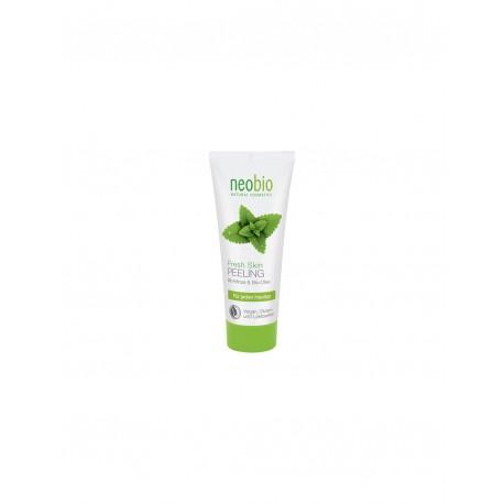 Peeling Rinfrescante Bio Menta e Aloe Vera - NEOBIO