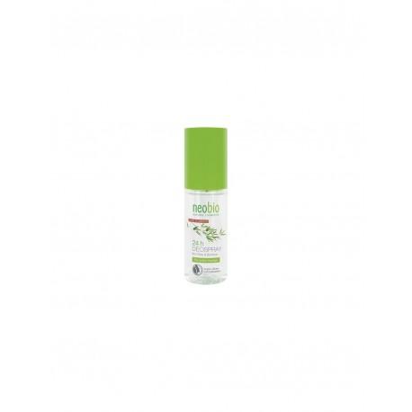 Deodorante spray senza sali di alluminio e gas con bio olive e bamboo - NEOBIO