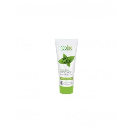 Gel detergente viso Bio menta e Sale marino - NEOBIO