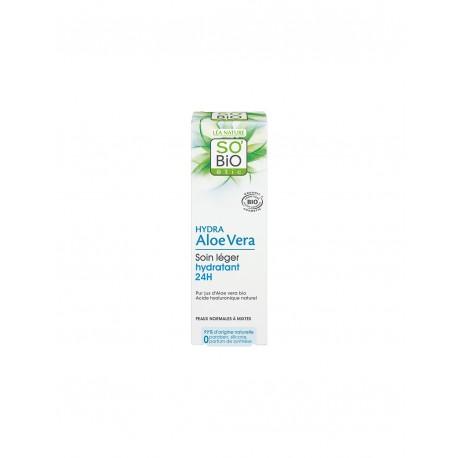 Crema Leggera 24h Hydra Aloe Vera  50ml - SO' BIO ETIC