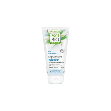 Gel Detergente Rinfrescante Aloe Vera 150ml - SO' BIO ETIC