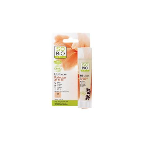 BB Cream 01 Beige Naturale - SO' BIO ETIC