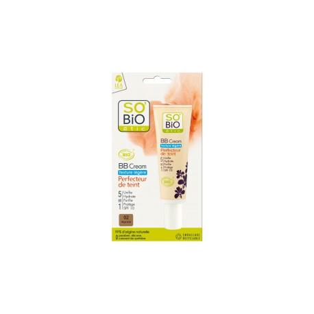 BB Cream Texture Leggera 02 Beige Luminoso - SO' BIO ETIC