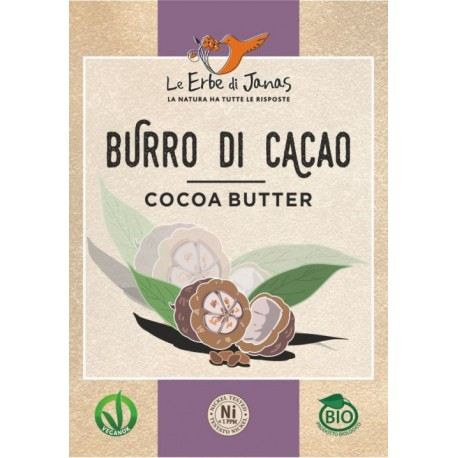Burro di Cacao - LE ERBE DI JANAS