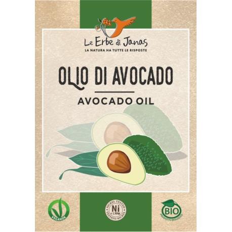 Olio Di Avocado - ERBE DI JANAS