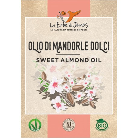 Olio Di Mandorle Dolci - LE ERBE DI JANAS