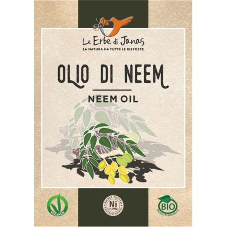 Olio Di Neem - LE ERBE DI JANAS