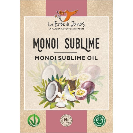 Monoi Sublime 50ml - LE ERBE DI JANAS