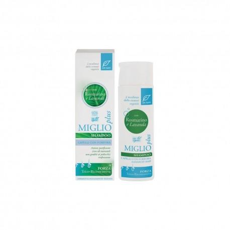 Shampoo Rosmarino e Lavanda Miglio Plus - DR. TAFFI