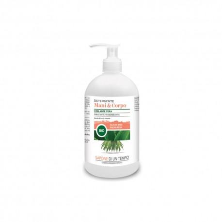 Detergente mani e corpo - Palmarosa -  SAPONE DI UN TEMPO
