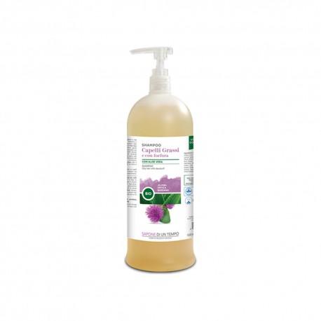 Shampoo capelli grassi e con forfora 1500 ml – SAPONE DI UN TEMPO