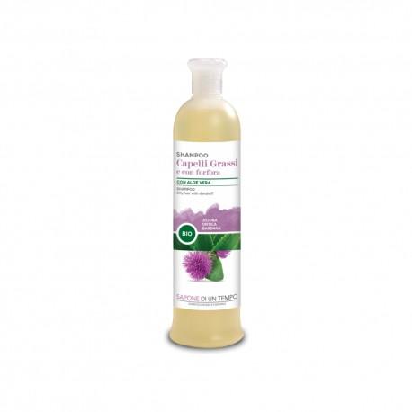Shampoo capelli grassi e con forfora 500 ml – SAPONE DI UN TEMPO