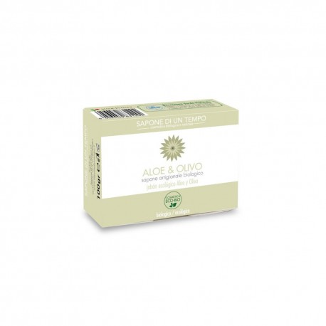 Saponetta 100 gr ALoe e Olivo - SAPONE DI UN TEMPO