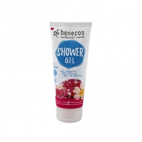 Natural Shower Gel Pomegranate & Rose - BENECOS