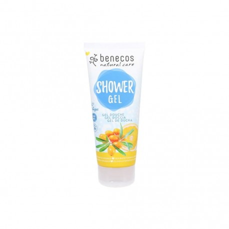 Natural Shower Gel Sea Buckthorn & Orange - BENECOS