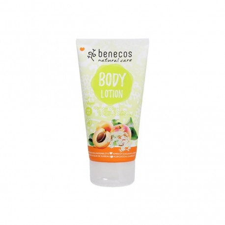 Natural Body Lotion Apricot & Elderflower - BENECOS