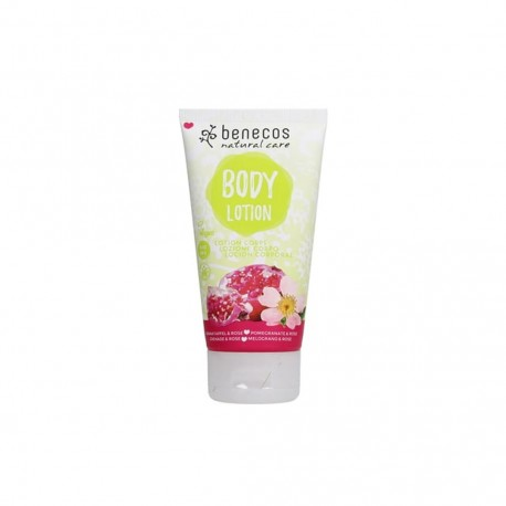 Natural Body Lotion Pomegranate & Rose - BENECOS