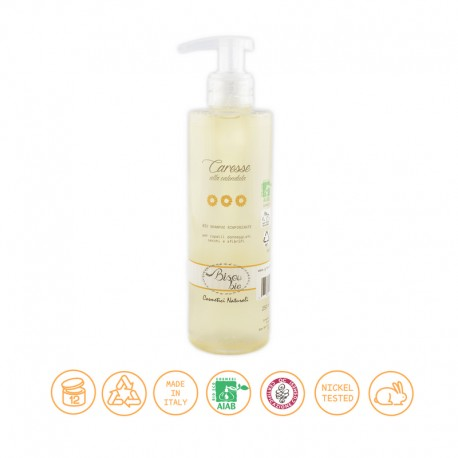 Bio shampoo alla calendula – rinforzante per capelli secchi - BISOU BIO