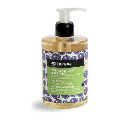 Detergente Unico Viso e Corpo Uva Fragola e More di Gelso  - BIO HAPPY