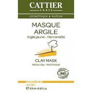 Maschera Monodose All'Argilla Gialla e Hamamelis - CATTIER PARIS