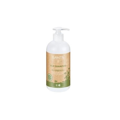 Shampoo Rivitalizzante Ginko e Olive 500ml - SANTE NATURKOSMETIK