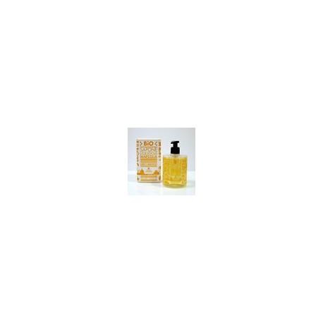 Bio Sapone Liquido di Marsiglia - Lime e Arancio - QUALIKOS