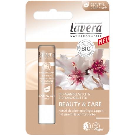 Balsamo per labbra beauty + care nude - LAVERA