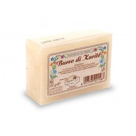 Saponetta 100 gr Burro di Karitè - SAPONE DI UN TEMPO