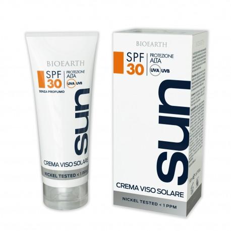 Sun Crema Solare Viso - SPF 30 - BIOEARTH