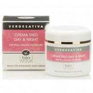 Crema Viso Bioattiva Day & Night - VERDESATIVA