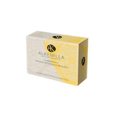Sapone Artigianale Delicato Bio al Profumo di Pesca e Albicocca - ALKEMILLA