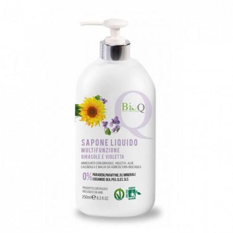Sapone Liquido Multifunzionale Delicato Girasole e Violetta - BioQ