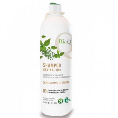 Shampoo Menta e Timo - BioQ