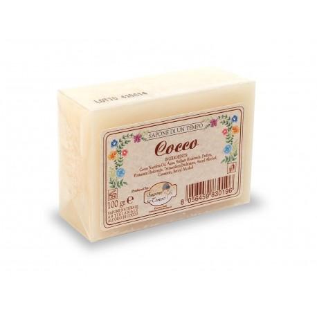 Saponetta 100 gr Cocco - SAPONE DI UN TEMPO