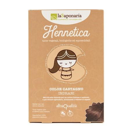 Hennetica Color Castano - LA SAPONARIA