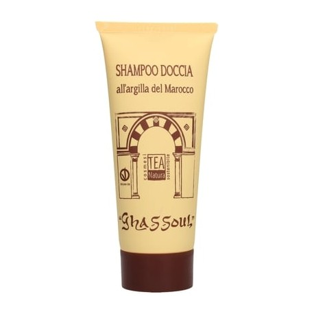 Shampoo Doccia all'Argilla Ghassoul 200 ml - TEA NATURA