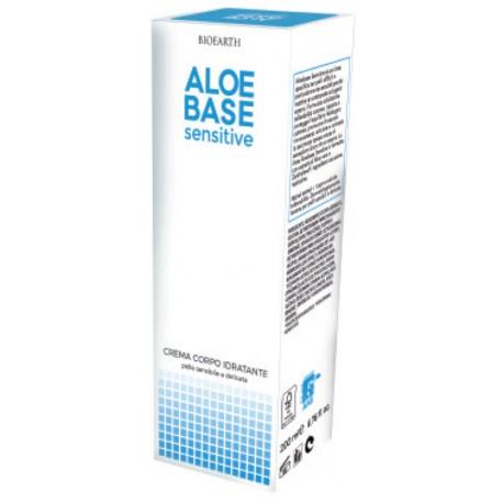 Crema Corpo Idratante Aloe Base Sensitive - BIOEARTH