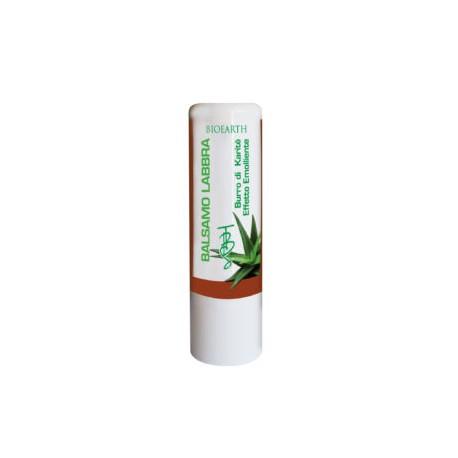 Balsamo Labbra con Burro di Karitè ed Aloe - BIOEARTH