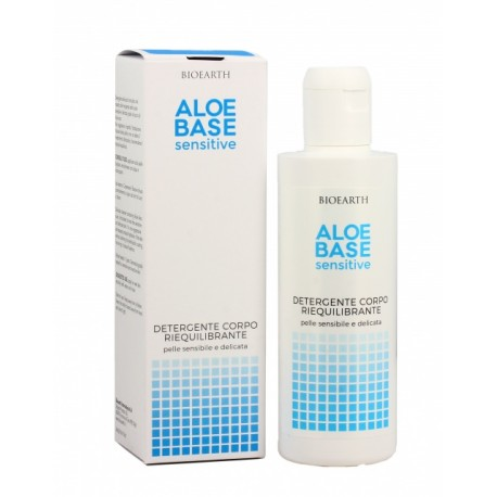 Aloe Base Sensitive Detergente Corpo Riequilibrante - BIOEARTH