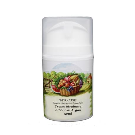 Crema idratante all'Olio di Argan - FITOCOSE