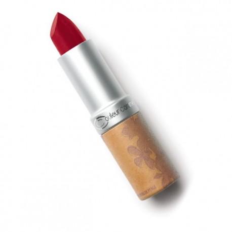 Rouge à Lèvres Mat n° 120 Rouge Sombre - COULEUR CARAMEL