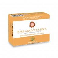 Saponetta 100 gr Scrub Albicocca & Pesca - SAPONE DI UN TEMPO