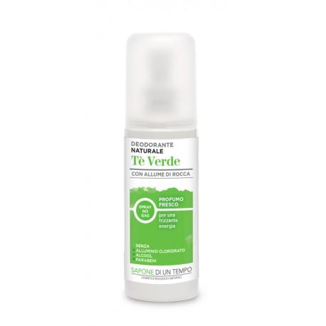Deodorante Spray Tè Verde - SAPONE DI UN TEMPO