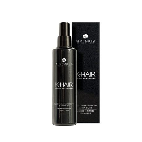 Fluido Spray Anticrespo ai Semi di Lino - K- HAIR