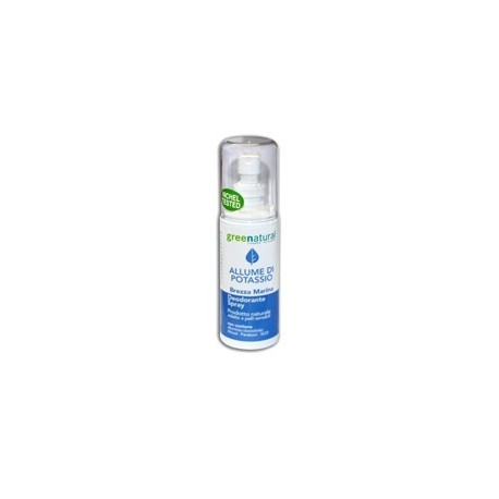 Deo Spray Allume Di Potassio - Brezza Marina - GREENATURAL