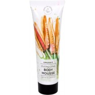 Organic Energizing Body Mousse Carrot & Coconut 150 ml - HANDS ON VEGGIES