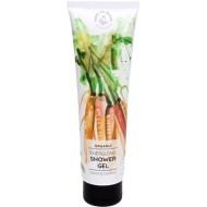 Organic Energizing Shower Gel Carrot & Coconut 50 ml - HANDS ON VEGGIES
